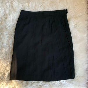 Sonia Rykiel Black Aline Skirt